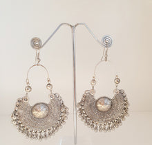 Load image into Gallery viewer, Shield Statement Earrings Marigold Lane New Zealand