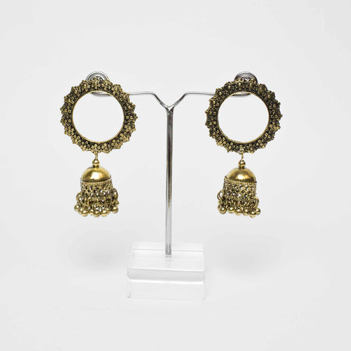 Spike Bell Gold Earrings Marigold Lane New Zealand