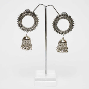 Spike Bell Silver Earrings Marigold Lane New Zealand