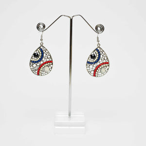 Tanzania White Earrings Marigold Lane Earrings