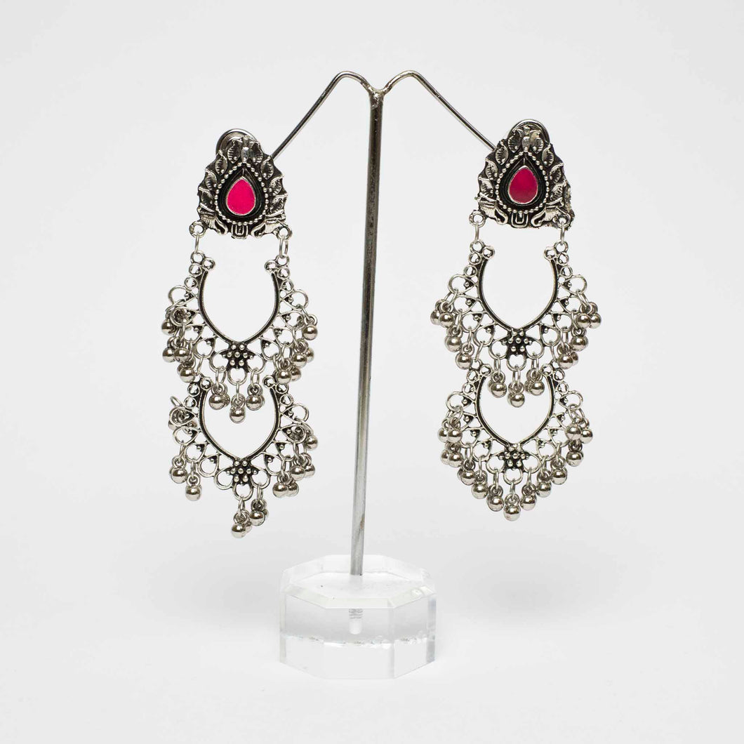 Tri Dot Drop Earrings Marigold Lane New Zealand