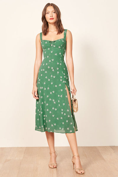 Reformation peridot dress