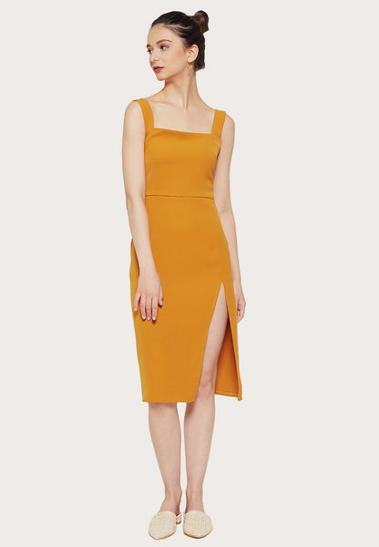 Reformation christina dress dupe
