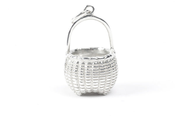 Sterling Silver Cathead Basket