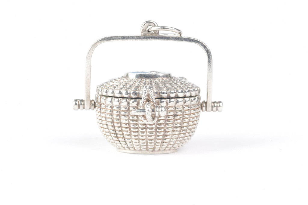 Sterling Silver Nantucket Lightship Basket
