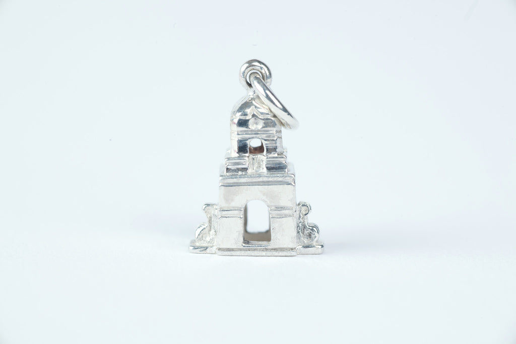 Worth Avenue Clock Tower in Sterling Silver
