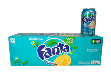 FANTA GRAPEFRUIT SODA 355ML - SINGLE & 12 PACK