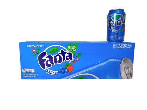FANTA BERRY SODA 355ML - SINGLE  & 12 PACK
