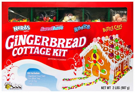 US CANDY WONKA GINGERBREAD COTTAGE KIT