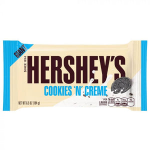 HERSHEY GIANT COOKIES N CREME BAR 184G