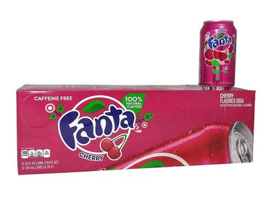 FANTA WILD CHERRY SODA 355ML - SINGLE & 12 PACK