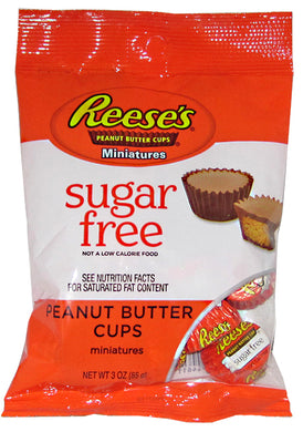 REESES PEANUT BUTTER CUP MINIS S/F PEG BAG 85G
