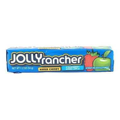 JOLLY RANCHER STRAWBERRY & APPLE HARD CANDY STICKS
