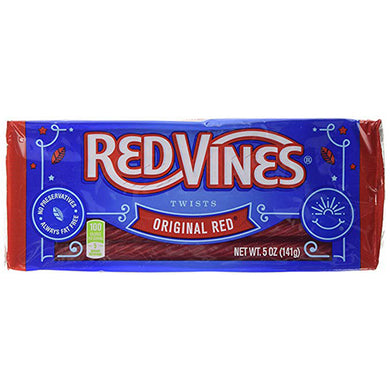 RED VINES ORIGINAL RED TWISTS CANDY 141G