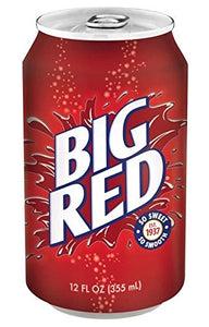 BIG RED SODA 355ML - SINGLE & PACK OF 12