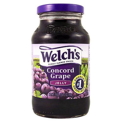 WELCH'S GRAPE JELLY 18 OZ (510G)