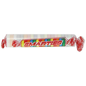 SMARTIES CANDY ROLL 28G
