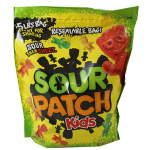 SOUR PATCH KIDS ORIGINAL 1.58KG XL BAG