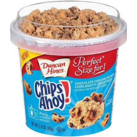 DUNCAN HINES PERFECT SIZE CHIPS AHOY CAKE 69G