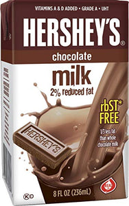 HERSHEY'S 2% CHOCOLATE MILK 236ML