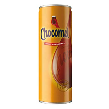 CHOCOMEL CHOCOLATE MILK DRINK, TIN, 250 ML