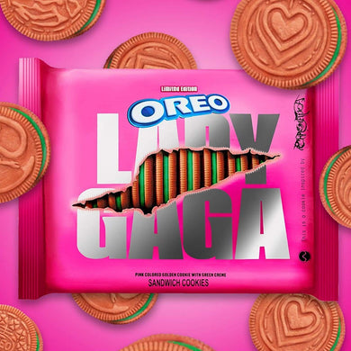 OREO LIMITED EDITION LADY GAGA COOKIES 12.2 OZ 345G
