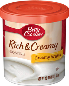 BETTY CROCKER CREAMY WHITE FROSTING 453G