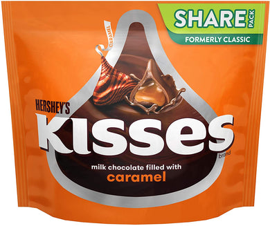 HERSHEY'S KISSES WITH CARAMEL 286g