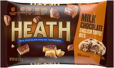 HEATH TOFFEE BAKING BITS 8 OZ (226G)