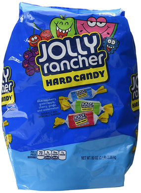 JOLLY RANCHER ASSORTED FLAVOURS HARD CANDY - GIANT BAG 2.26KG
