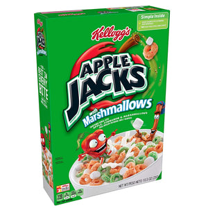 KELLOGGS APPLE JACKS WITH MARSHMALLOWS CEREAL 297G