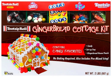 TOOTSIE CHRISTMAS GINGERBREAD HOUSE