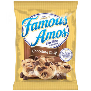 KELLOGG'S FAMOUS AMOS CHOC CHIP COOKIES