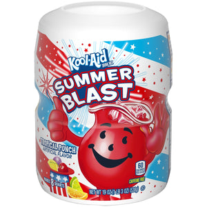 KOOL AID TROPICAL PUNCH 538G