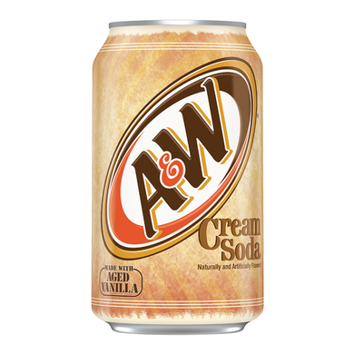 A&W CREAM SODA 355ML CAN