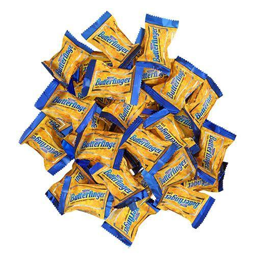 NESTLE BUTTERFINGER MINI 25 PIECE BREAKDOWN