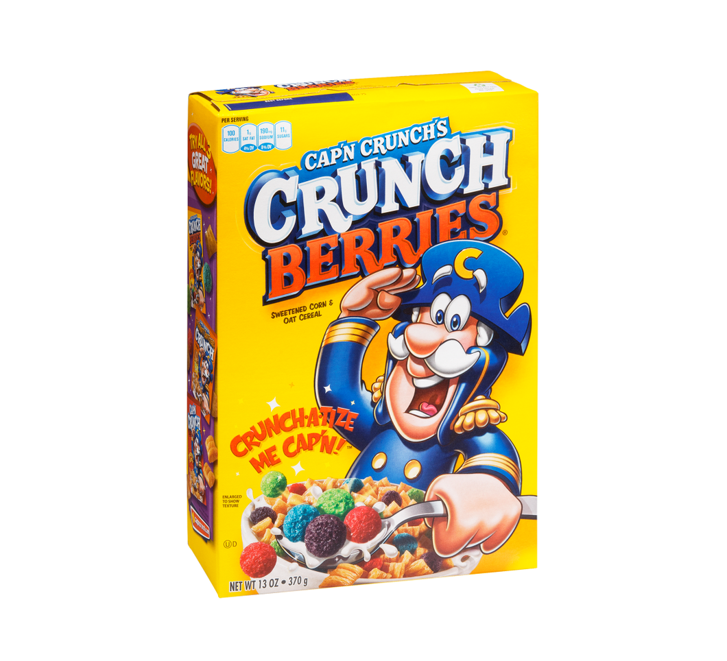 CAP'N CRUNCH BERRIES 530G LARGE BOX