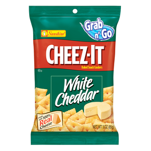 CHEEZ-IT WHITE CHEDDDAR 85G BAG