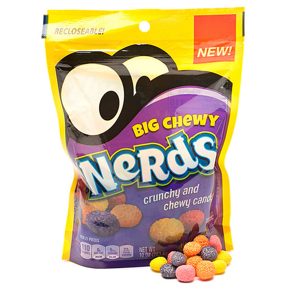 BIG CHEWY NERDS CANDY 170G BAG