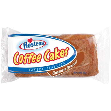 HOSTESS COFFEE CAKES CINNAMON STREUSEL PACK OF 2 82G