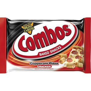 COMBOS PEPPERONI CRACKER 48.2G SINGLE PACK