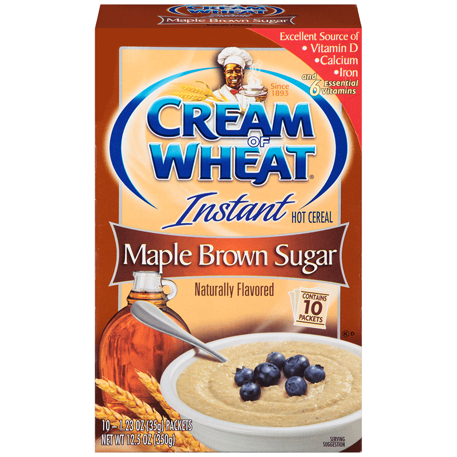 CREAM OF WHEAT MAPLE BROWN SUGAR HOT CEREAL 680G