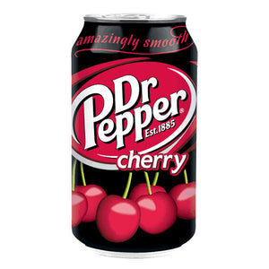 DR PEPPER CHERRY 355ML - SINGLE & 12 PACK