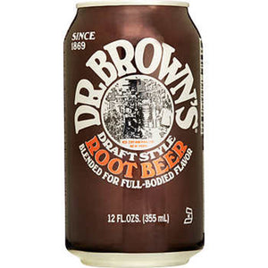 DR BROWNS ROOT BEER - SINGLE & PACK OF 12
