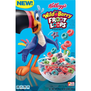 KELLOGGS FROOT LOOPS WILDBERRY CEREAL (286G)