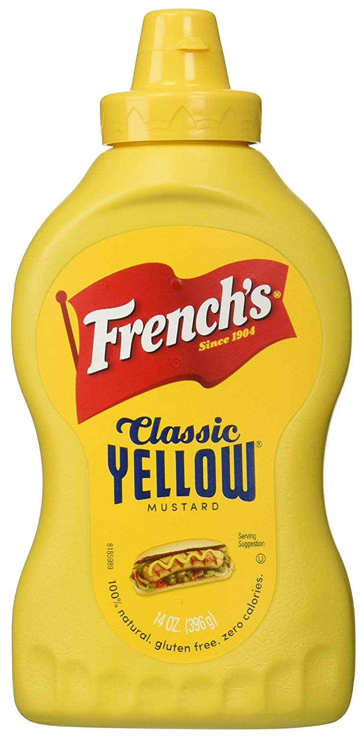 FRENCH'S CLASSIC YELLOW MUSTARD 396G