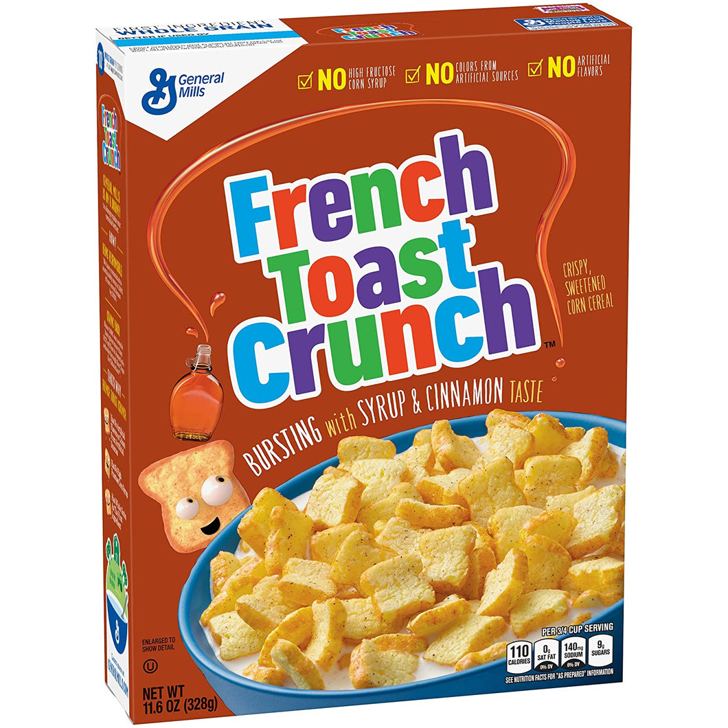 GENERAL MILLS FRENCH TOAST CRUNCH 345G