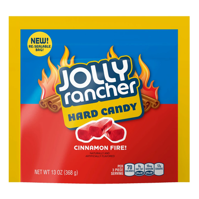 JOLLY RANCHER FIRE CINNAMON HARD CANDY 13 OZ
