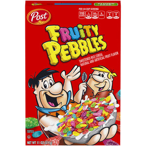 FRUITY PEBBLES CEREAL - 311G BOX