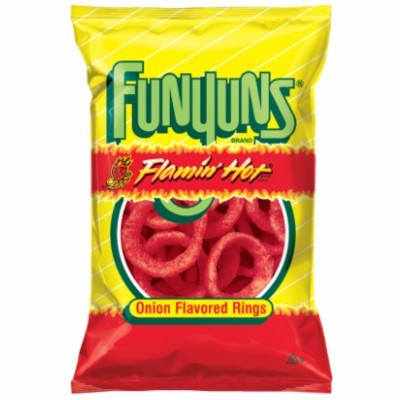 FUNYUNS ONION RINGS FLAMIN HOT 163G